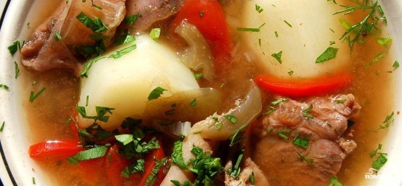 Шулюм из говядины в мультиварке рецепт пошагово